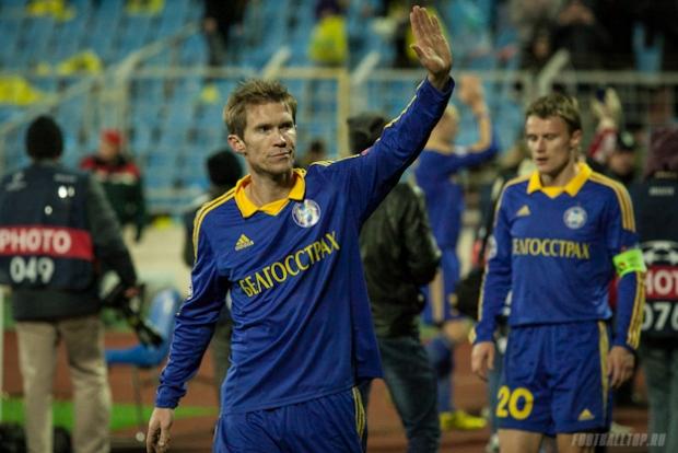 Александр Глеб уйдет из БАТЭ по окончании сезона