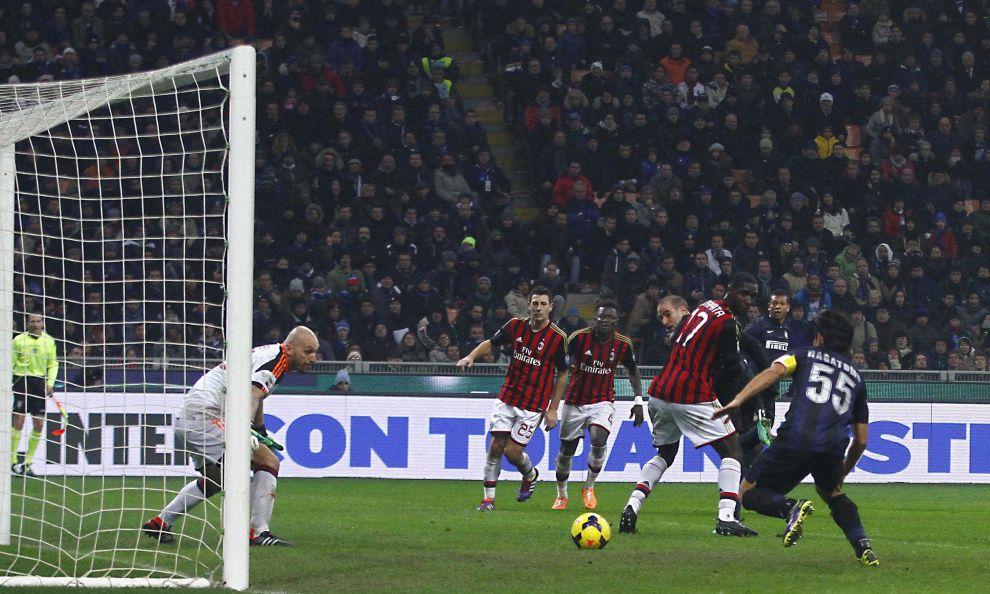 Итальянская Серия А. «Интер» — «Милан» — 1:0. «Голден Палас»