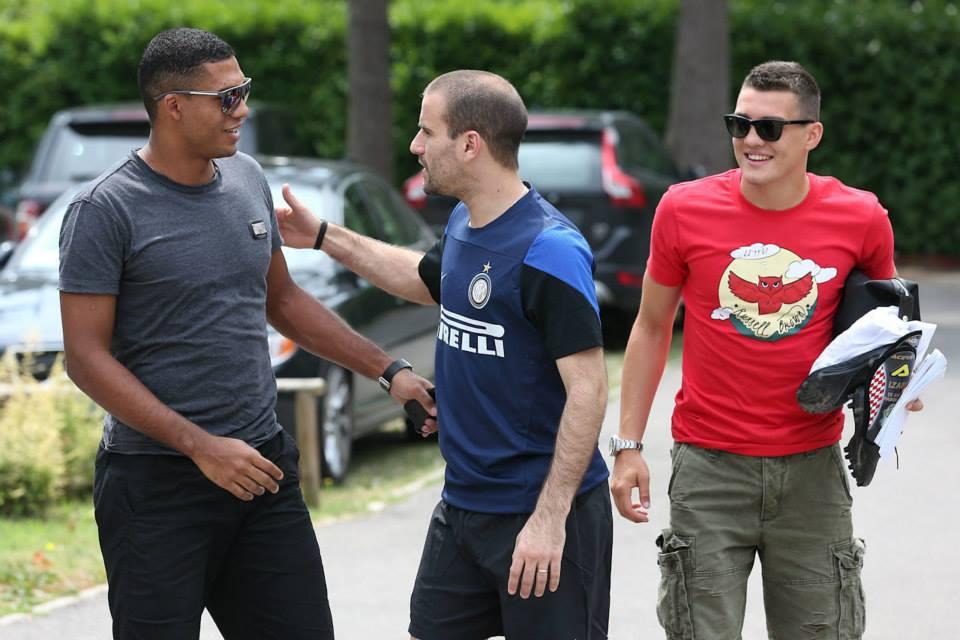 Как «Интер» провел первую тренировку после отпуска (ФОТО)