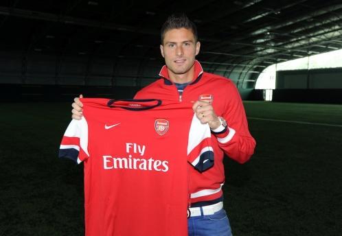 Оливье Жиру официально перешел в «Арсенал»