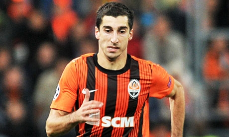 Liverpool close to signing Mkhitaryan from Shakhtar