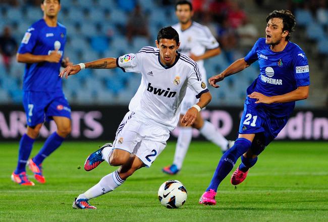 Испанская Ла лига. 5-й тур. «Реал» — «Хетафе» — 4:1. Хроника событий