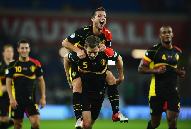 World Cup qualifiers. Key fixtures: Macedonia vs Belgium
