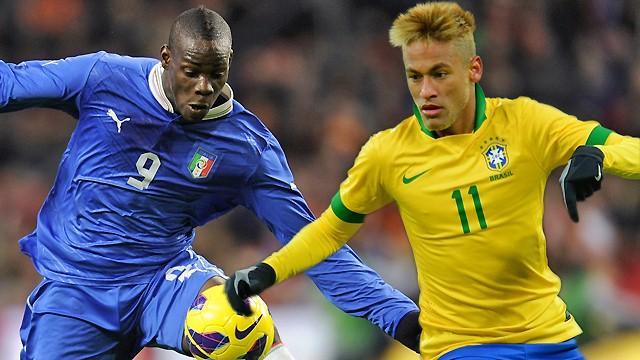 Кубок конфедераций-2013. Италия — Бразилия. Онлайн-трансляция начнется в 23.00