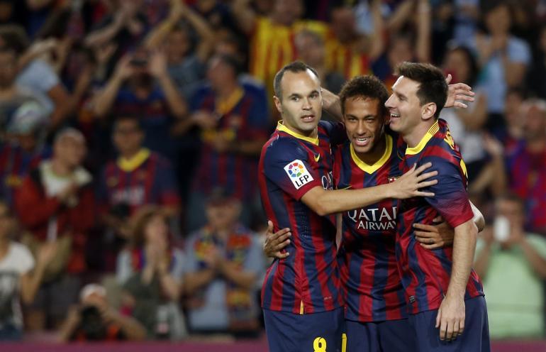 Испанская Ла лига. «Альмерия» — «Барселона» — 0:2. Хроника событий