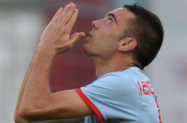 Liverpool reached an agreement in principle to sign Celta Iago Aspas