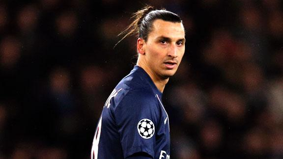 Ibrahimovic is set to stay at PSG next year