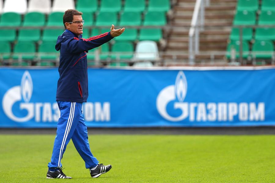 Илья Казаков: «Фабио Капелло пробует разные сочетания игроков»