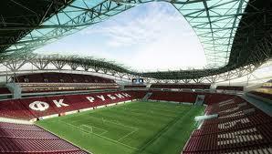 Первый матч «Рубин-Арена» примет осенью 2013 года
