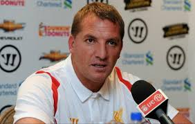 Brendan Rogers questions the idea of Suarez swapping Liverpool for Arsenal