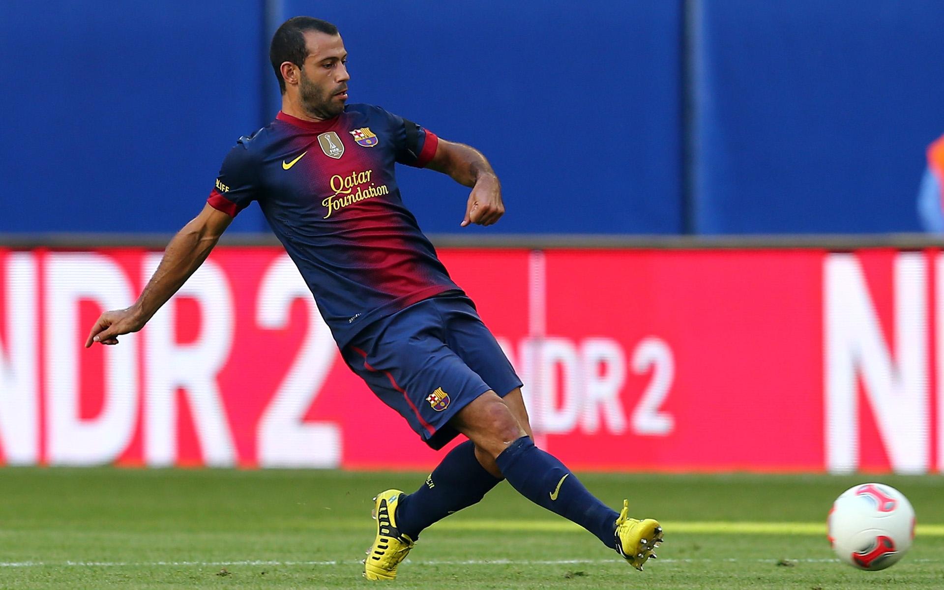 Хавьер Маскерано: не стоит забывать, что «Барселона» продолжает лидировать