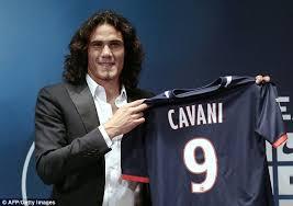 Edinson Cavani joins Paris Saint-Germain