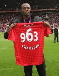 Усэйн Болт сможет сыграть за «Манчестер Юнайтед»