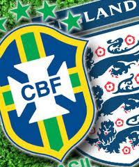 Англичане дважды сыграют с бразильцами