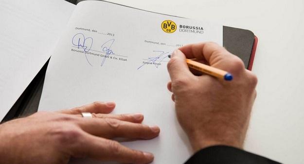 Юрген Клопп продлил контракт с «Боруссией» до 2018 года (ФОТО)