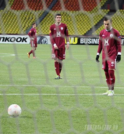 Лига Европы-2013/14. «Рубин» — «Раннерс» — 2:0. Хроника событий
