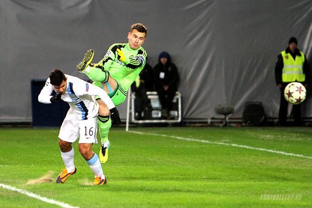 Акинфеев обновил собственный антирекорд Лиги чемпионов