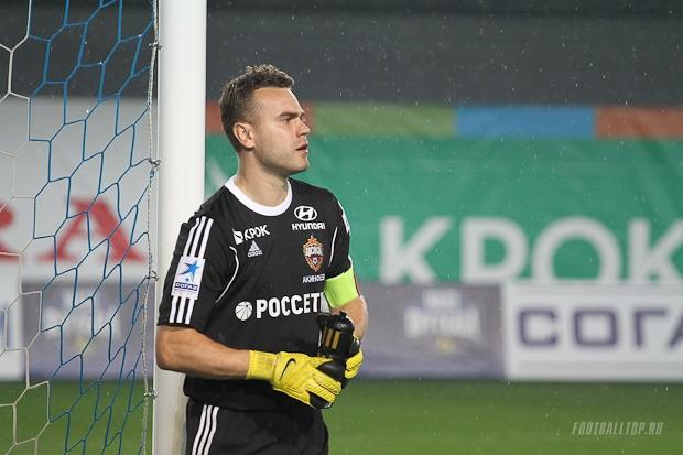«Зенит» — ЦСКА. Акинфеев остался в запасе