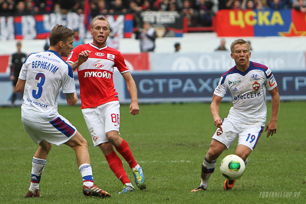 Денис Глушаков: не стоит принижать ЦСКА из-за двух неудачных игр