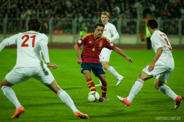Испанцы просят отложить или перенести матч против сборной Беларуси из-за взрыва генератора на стадионе