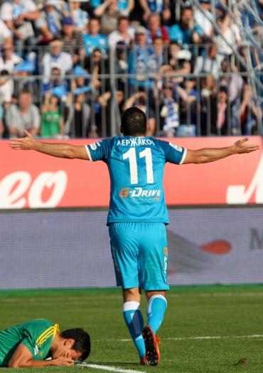 Лига чемпионов-2013/14. «Зенит» оказался сильнее «Норшелланна»