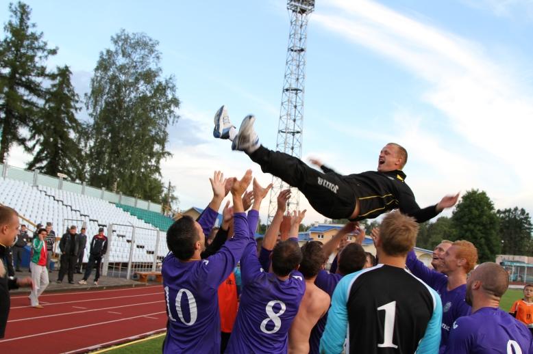 Команда из Минской области выиграла промежуточный раунд Кубка Регионов УЕФА