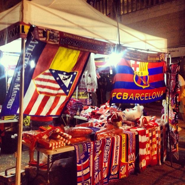 Вокруг матча «Атлетико» — «Барселона»