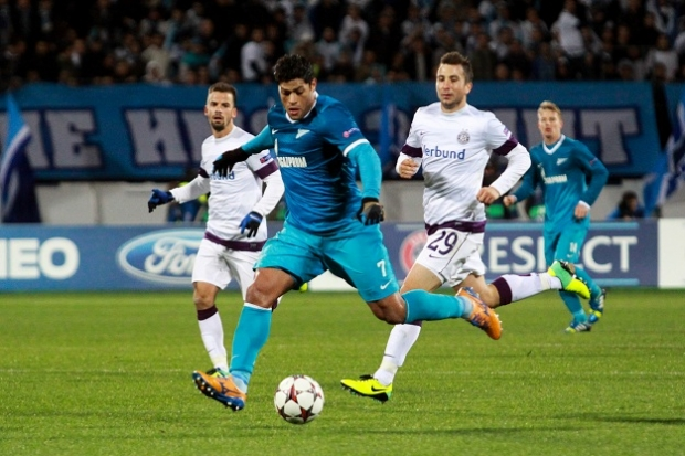 Лига чемпионов-2013/14. «Аустрия» — «Зенит». Онлайн-трансляция начнется в 23.45