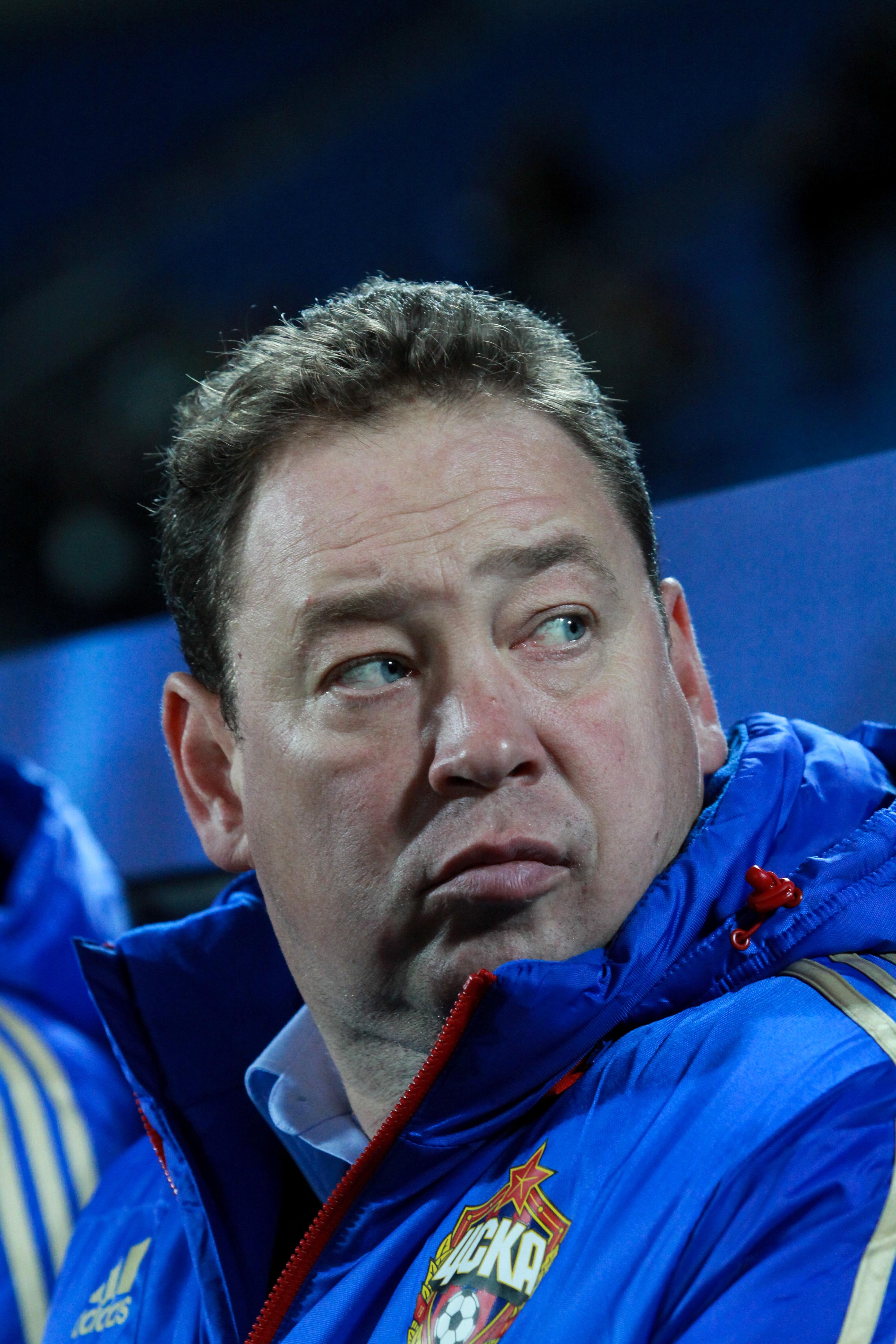 Леонид Слуцкий: голы вернули ЦСКА к жизни, хотя пока она ключом не бьет
