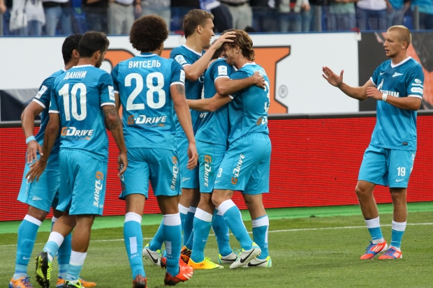 Лига чемпионов-2013/14. «Зенит» вновь оказался сильнее «Пасуш де Феррейра» и пробился в групповой этап