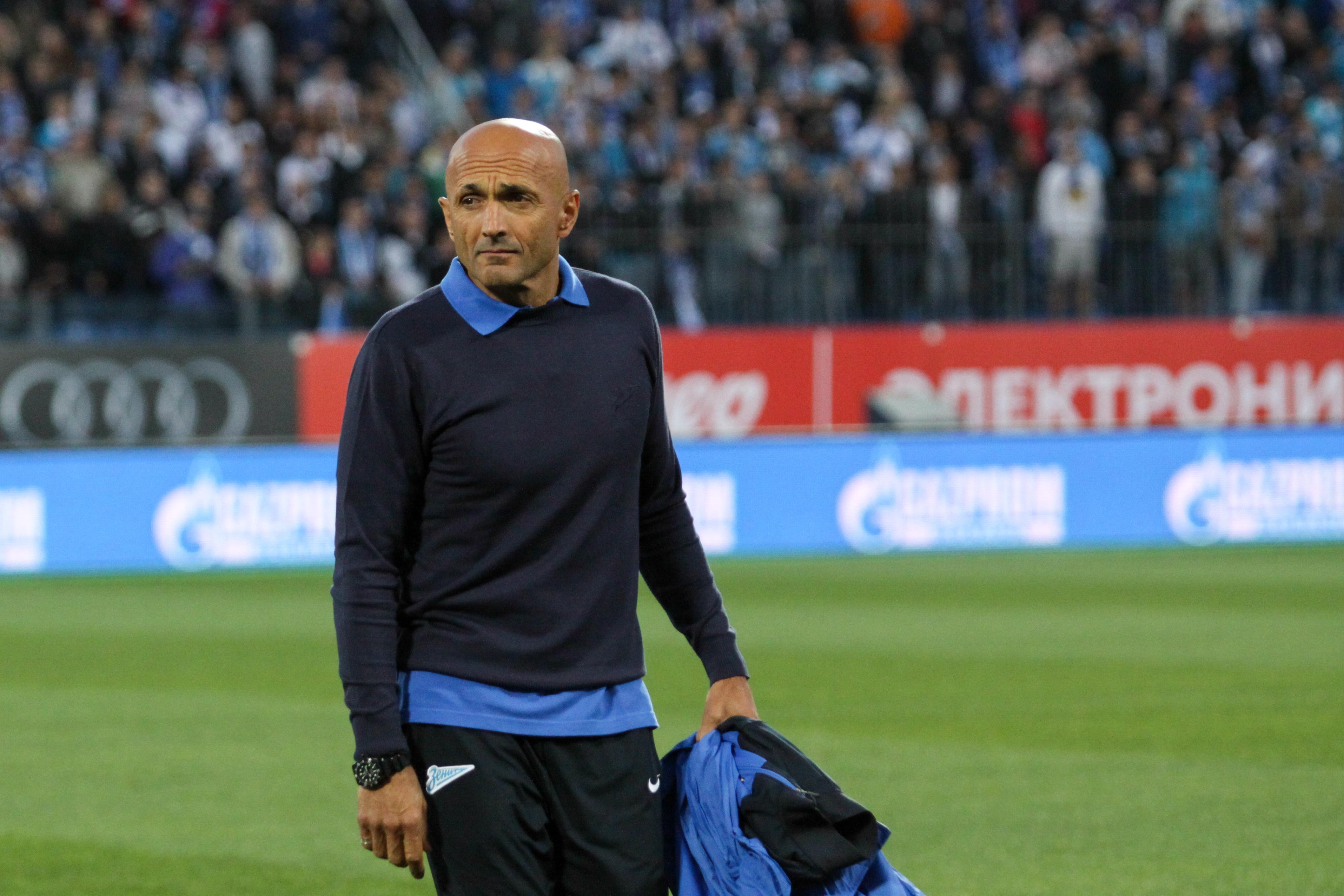 Лучано Спаллетти: в игре с «Атлетико» «Зенит» должен избежать таких невынужденных ошибок