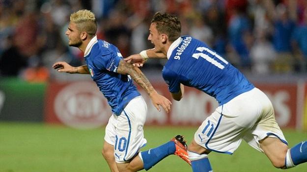 Чемпионат Европы (U-21). Полуфинал. Италия — Голландия — 1:0. Голы, составы, хроника опасных моментов