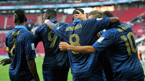Чемпионат мира (U-20). Сборная Франции обыграла команду Ганы и вышла в финал