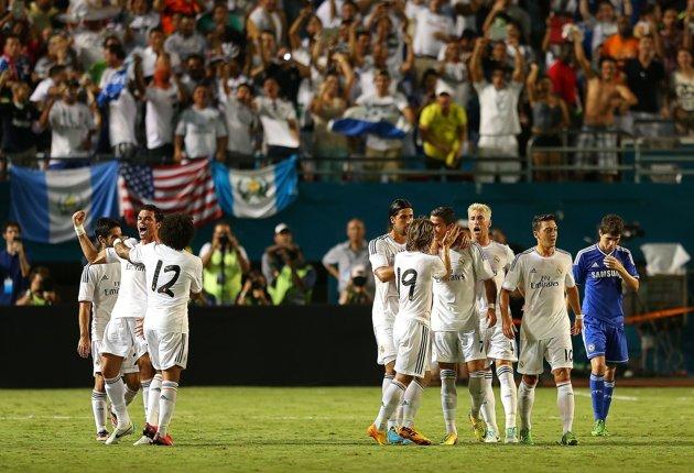 «Реал» — победитель International Champions Cup, «Милан» — третий