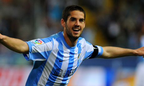 Real Madrid completed transfer of Isco from Malaga