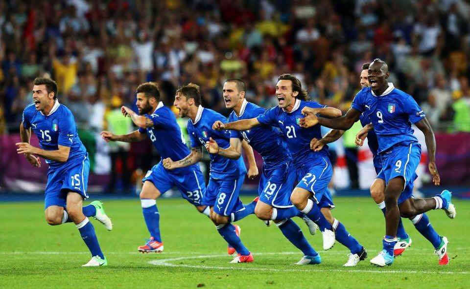 По следам отшумевшего Евро-2012. Самая романтичная сборная – Италия