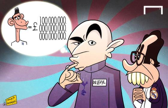 Лучшая карикатура дня. Бейл? 100 миллионов фунтов!