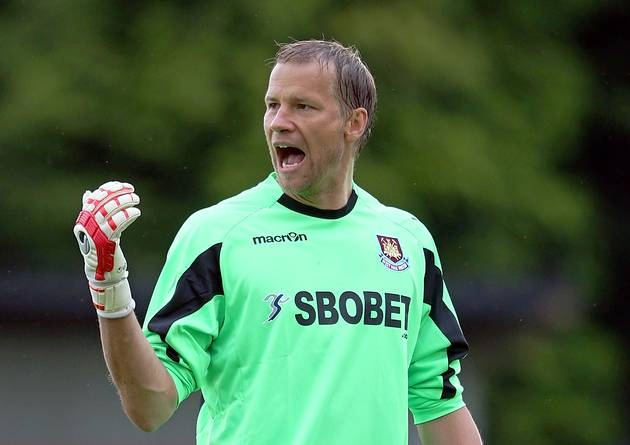 Jaaskelainen penned a new West Ham deal