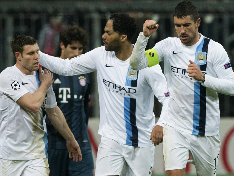 Manchester United and Manchester City beat Shakhtar Donetsk and Bayern Munich in Champions League