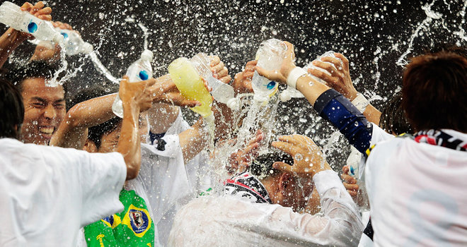 Japan became the first team to book the place in 2014 World Cup final stage