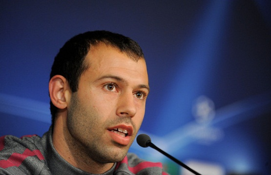 Javier Mascherano: 'This guy has scored more than 80 goals. That's just insane.'