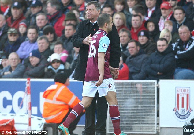 Joe Cole injury woe for West Ham