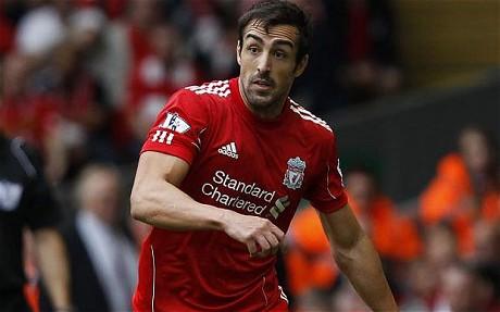 José Enrique injury woe for Liverpool