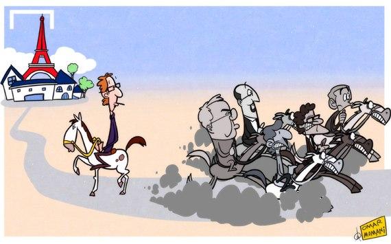 Лучшая карикатура дня. Лоран Блан возглавил «ПСЖ»