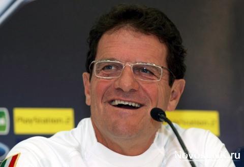 Фабио Капелло будет получать 12 миллионов долларов в год