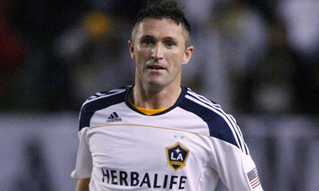 Robbie Keane signed a new contract with LA Galaxy
