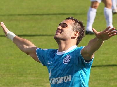 Кержаков чуть не подрался на матче против «молодёжки» «Зенита»