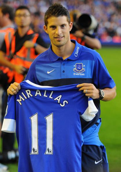 Миральяс рассказал, почему выбрал «Эвертон» вместо «Арсенала»