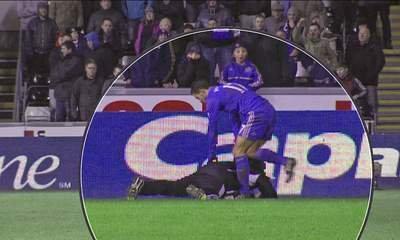 Chelsea Hazard apologized to the ball boy for kicking him