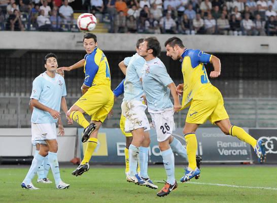 Итальянская Серия А. 3-й тур. «Кьево» дома не сумел совладать с «Лацио»